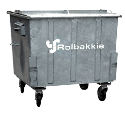 Rolcontainer 750 liter